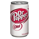 DIET DR.PEPPER,12 OZ CAN,24CT