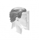Disposable Face Shield, One size fits all, 100/CT