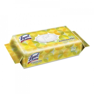 Lysol Disinfecting Wipes , Lemon & Lime Blossom