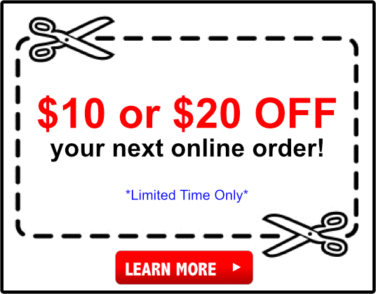 $10 & $20 Off Coupon